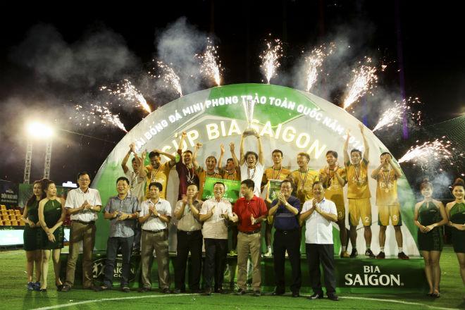 Minh Đạt Phát vô địch Cúp bia Sài Gòn khu vực Bình Dương