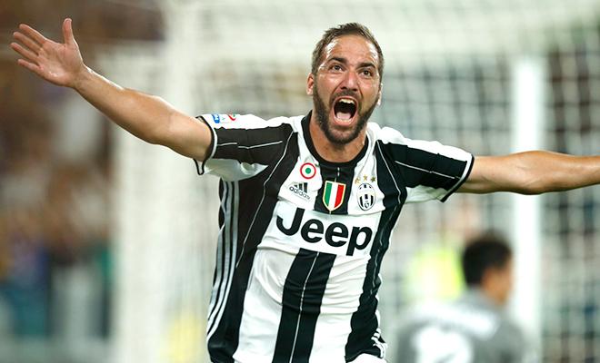 Juventus thắng trận ra quân: Cơn thèm ăn của Higuain