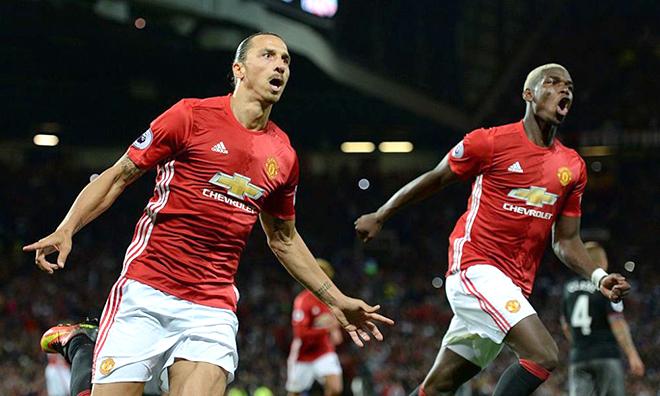 Với Ibra và Pogba, Man United đáng sợ đã trở lại