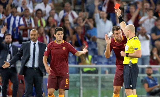 Roma quá yếu bóng vía khi đá ở Champions League