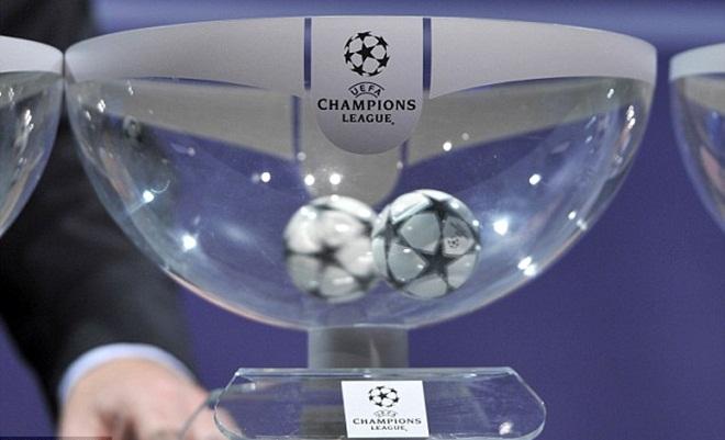 Đêm nay bốc thăm vòng bảng Champions League: Leicester 'chung mâm' với Real, Barca và Bayern