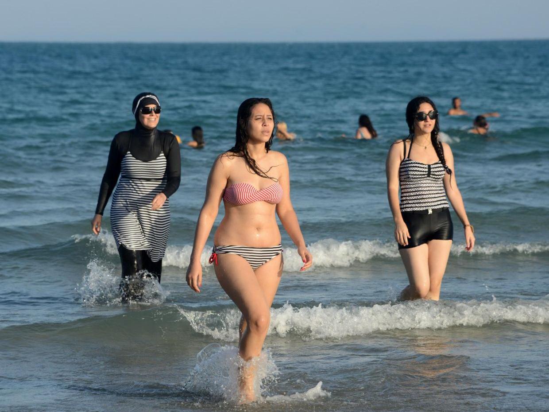 Tòa án Tối cao Pháp rút 'thượng phương bảo kiếm' để cứu bộ bikini kiểu Hồi giáo