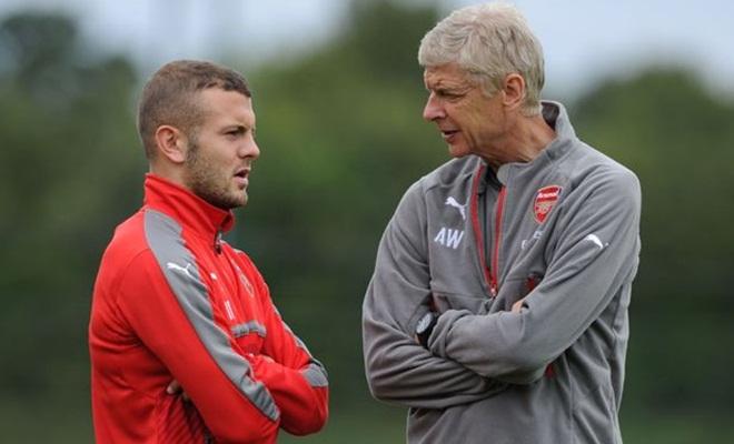 Arsene Wenger cho phép Wilshere rời Arsenal theo dạng cho mượn
