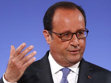 Tổng thống Pháp Francois Hollande bắt đầu thăm cấp Nhà nước tới Việt Nam