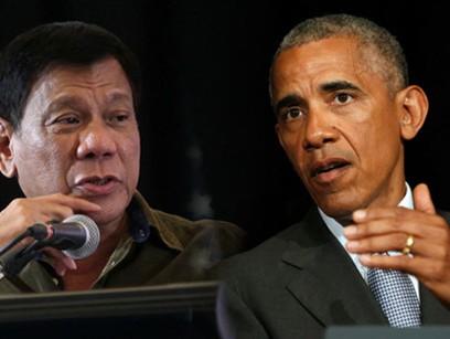 Bị Tổng thống Philippines dọa 'chửi thẳng mặt', Tổng thống Obama hủy gặp