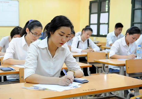 """Résultat de recherche d'images pour """"thi trung học phổ thông"""""""