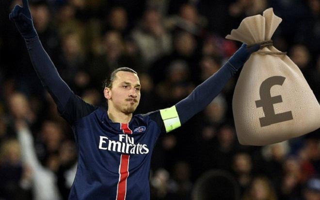 Zlatan Ibrahimovic chỉ nhớ về... tiền lương ở PSG