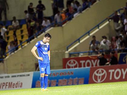 Sảy chân trước Hà Nội T&T, Than Quảng Ninh giã từ cuộc đua vô địch