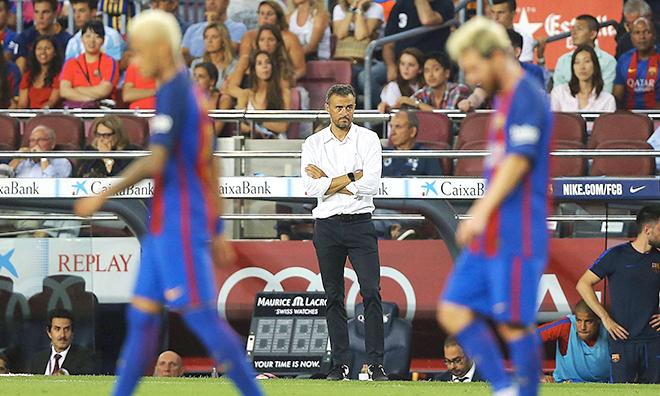 Từ La Liga đến Champions League: Barca và vấn đề Luis Enrique
