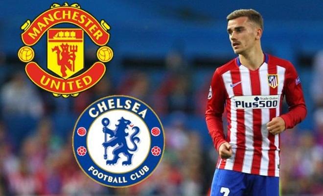 NÓNG: Từ giờ, Man United, Chelsea có thể tiếp xúc trực tiếp với Griezmann
