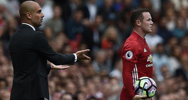 Nếu là Pep Guardiola thì Rooney đã bị loại từ lâu rồi
