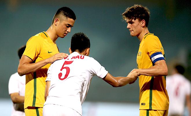 U19 Việt Nam gục ngã vì bị Australia bắt bài