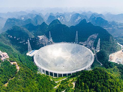 Một Số Hình Ảnh Về Kính Viễn Vọng Của Trung Quốc: