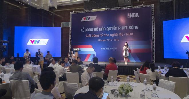 Giải bóng rổ nhà nghề Mỹ NBA xuất hiện trên VTVcab