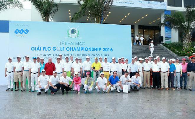 Giải golf FLC Golf Championship 2016 chính thức khởi tranh