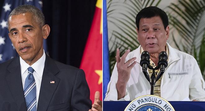 Tổng thống Philippines Duterte lại xúc phạm ông Obama