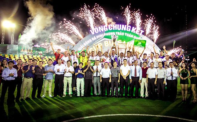 VCK Giải bóng đá mini phong trào toàn quốc – Cúp Bia Saigon 2016: Ngày hội đỉnh cao của bóng đá phong trào