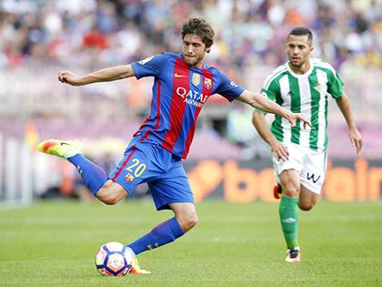 Sergi Roberto: Cuộc phiêu lưu kì lạ và khác biệt của Barca