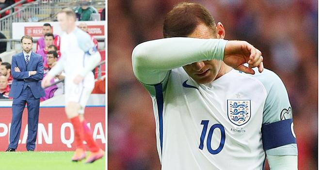Southgate sẵn sàng bỏ rơi Rooney nếu cần