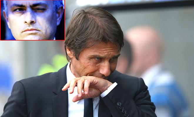 Khi nỗi ám ảnh của Conte là... Mourinho