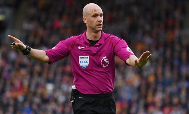 Trận Liverpool – Man United được điều khiển bởi trọng tài có nơi cư trú 'nhạy cảm'