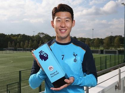 'Niềm tự hào châu Á' Heung-min Son xuất sắc nhất Premier League tháng 9