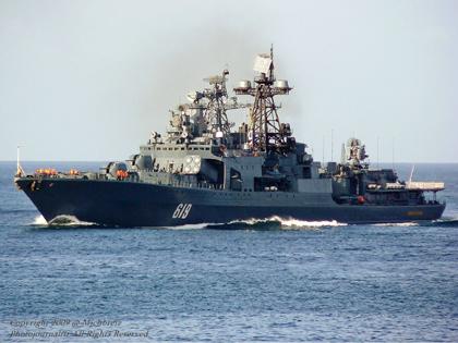 Đội tàu chiến của Nga bắt đầu chuyến tuần tra tại Đại Tây Dương và Địa Trung Hải