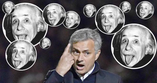 Mourinho nên học theo Einstein trước khi nói lời chế giễu