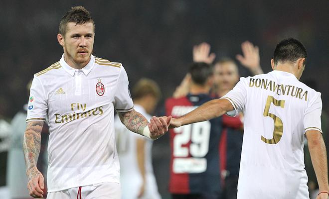 Milan chưa thể nghĩ đến Scudetto