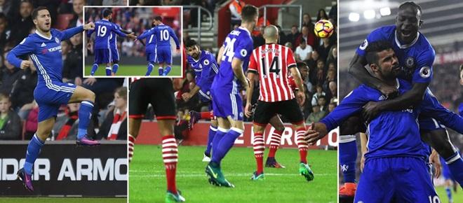 Southampton 0-2 Chelsea: Thắng 4 trận liên tiếp, Chelsea vào top 4