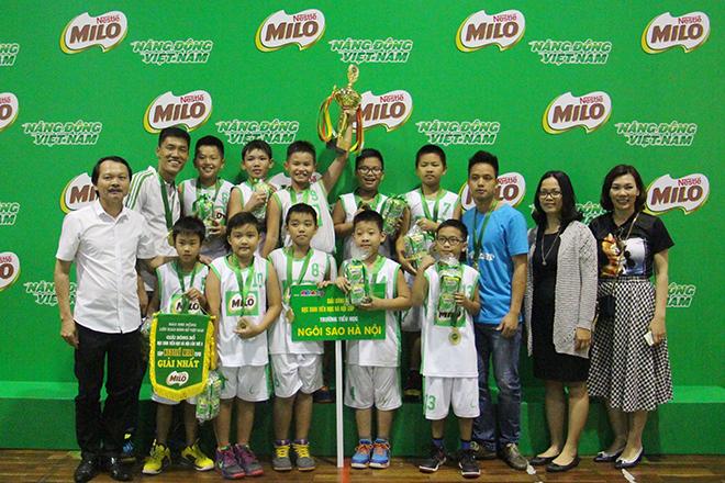 Kết thúc giải bóng rổ học sinh tiểu học Hà Nội 2016