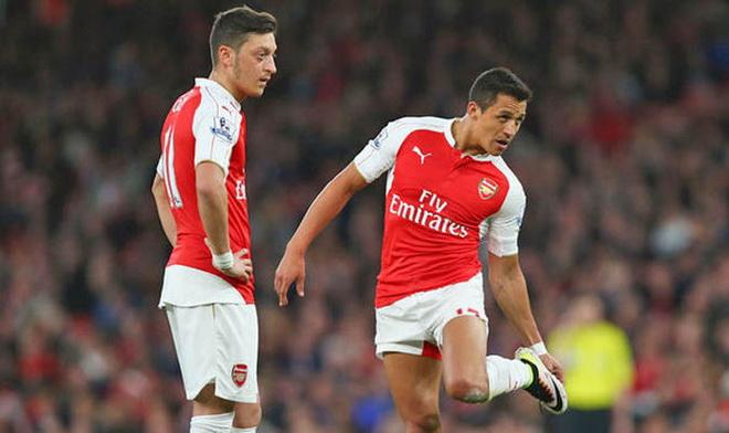 Vì sao Oezil, Sanchez hoàn toàn có thể đồng loạt rời Arsenal?