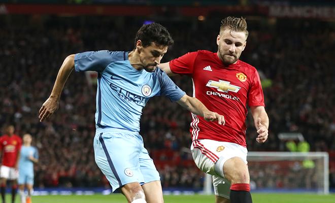 Man United sẽ phải trả giá đắt nếu để Luke Shaw lọt vào tay Man City