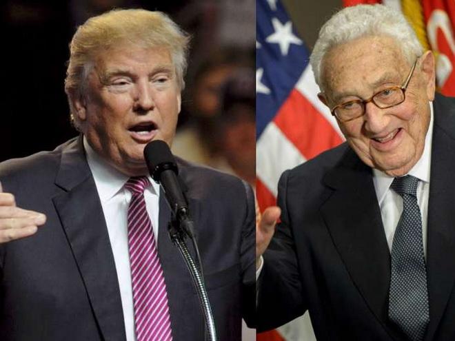 Ông Trump gặp 'quân sư' Kissinger để luận bàn chính trị thế giới