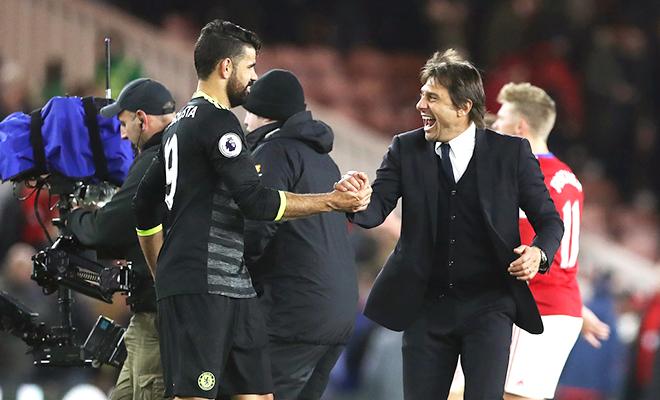 Nhờ Conte, Chelsea giữ chân Costa & Courtois