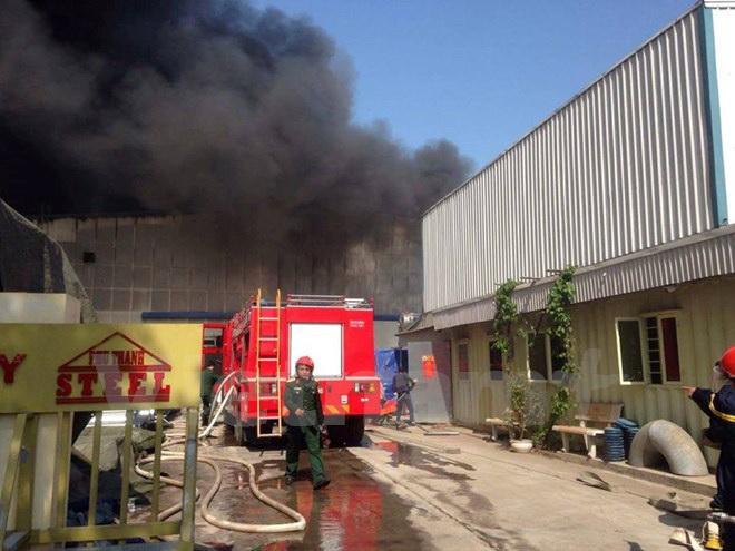 Thông tin mới nhất về hậu quả vụ cháy kho gỗ ở Ngọc Hồi, Hà Nội