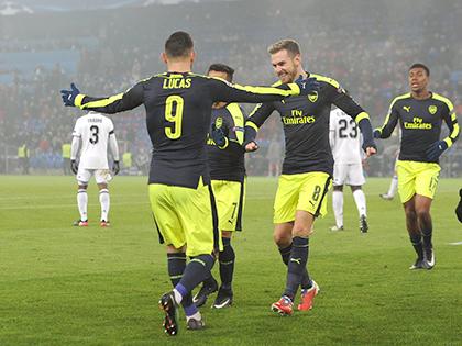 Khả năng Arsenal gặp Real là rất lớn