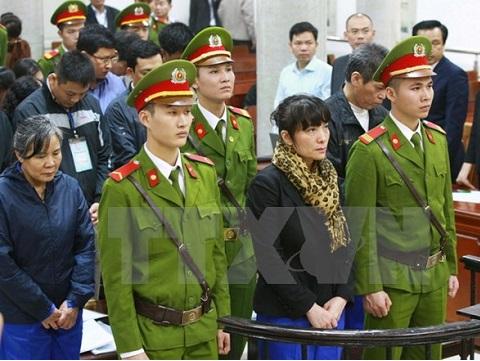 Xét xử phúc thẩm 'đại án' kinh tế tại Chi nhánh Agribank Nam Hà Nội