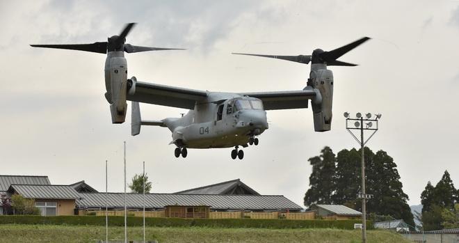 Vì sao dân Okinawa tức giận với 'siêu trực thăng'  Osprey của Mỹ?