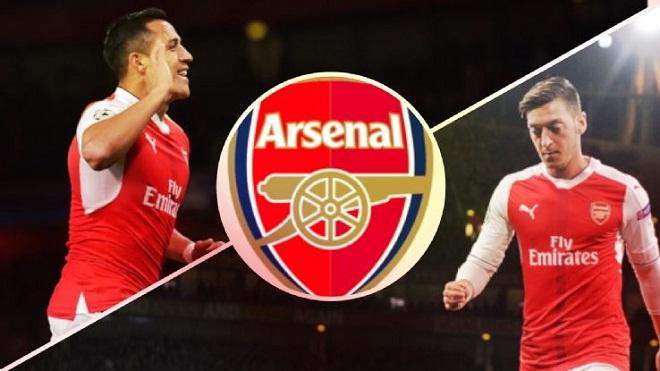 CHUYỂN NHƯỢNG 23/12: Arsenal thay thế Oezil và Sanchez bằng bộ đôi 'siêu khủng'.  Courtois sẽ sang Real Madrid