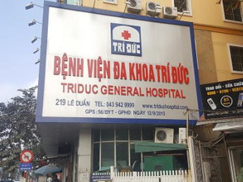 Bộ Y tế chính thức lên tiếng vụ 2 bệnh nhân tử vong tại Bệnh viện Trí Đức