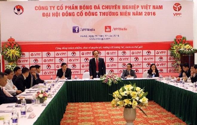 VPF lãi 1,6 tỷ đồng từ V-League 2016