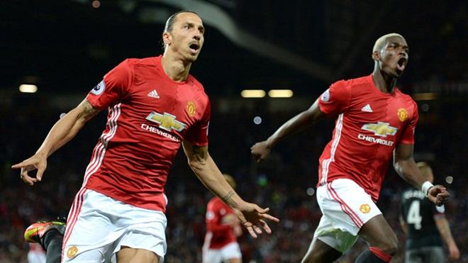 Với Pogba và Ibrahimovic, Man United thật đáng sợ