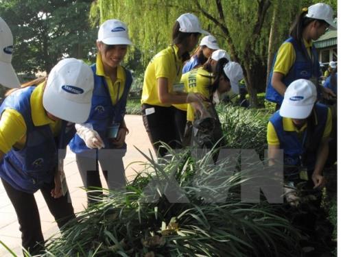 Hà Nội đảm bảo vệ sinh môi trường dịp Tết Dương lịch và Tết Nguyên đán 2017