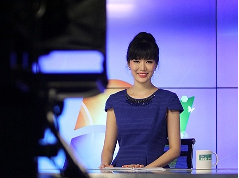 Hoa hậu Thu Thủy làm MC chương trình An ninh toàn cảnh