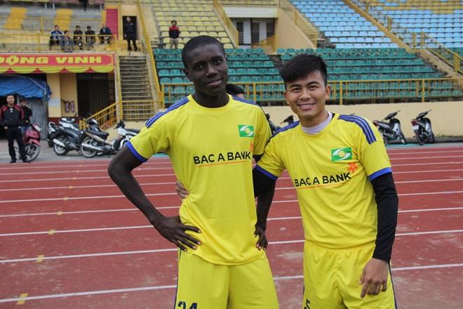 SLNA chọn ngoại binh 20 tuổi đấu V.League