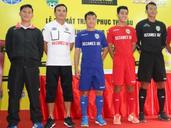 B.Bình Dương hạ chỉ tiêu tại V.League 2017
