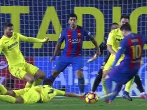 TRANH CÃI: Barcelona bị mất oan một quả phạt đền trước Villarreal?