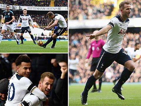 Tottenham 4-0 West Brom: Kane bùng nổ với hat-trick, Spurs chiếm ngôi nhì của Liverpool