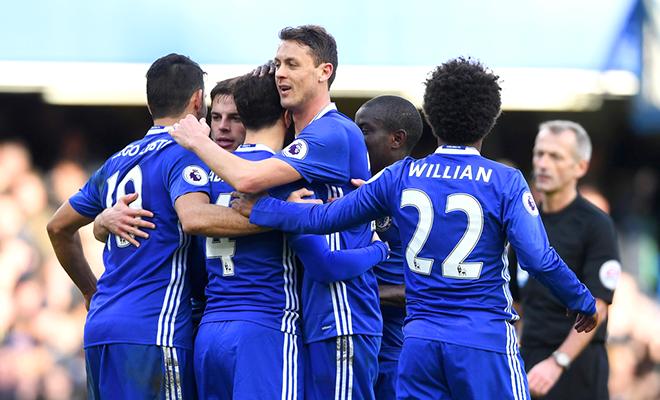 Chelsea đã chạm tay vào ngai vàng Premier League